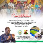 You've proved to be most outstanding governor, Oyo ALGON lauds Makinde on Adamasingba Stadium Commission