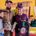 EDUCATION: Ibadan North Council Chair' Presents Educational Materials To Students, Donates Cash To Teachers